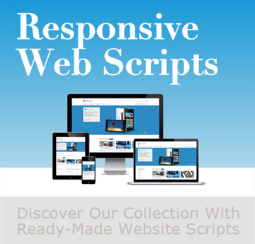 php responsive web scripts
